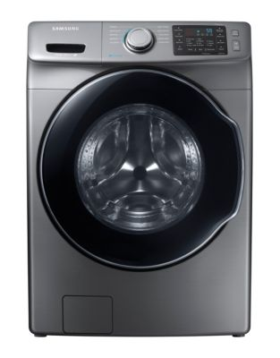 WF45M5500AP/A5 5.2 Cu. Ft. Front Load Steam Washer - Platinum photo