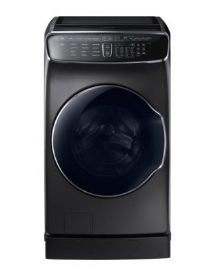 WV60M9900AV/A5 6.9 Cu. Ft. FlexWash Washer - Black Stainless photo
