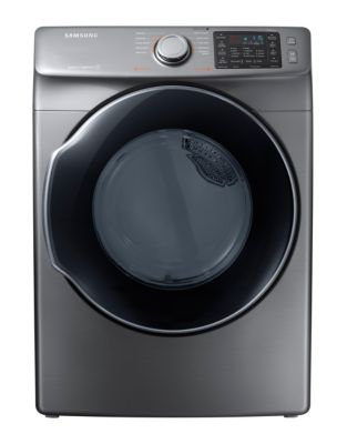 DVE45M5500P/AC 7.5 Cu. Ft. Electric Steam Energy Star Dryer - Platinum photo