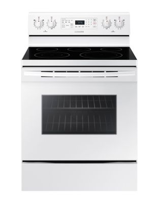 NE59M4320SW/AC 5.9 cu. ft. Electric Range - White photo