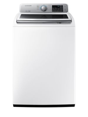 WA45N7150AW/A4 Top-Load Washer with Built-in Water Jet 5.2 cu. ft. Large Capacity in White photo