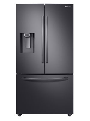 RF28R6201SG/AA French Door Refrigerator with Twin Cooling Plus-Black Stainless steel photo