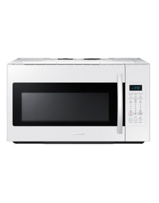 ME18H704SFW/AC 1.8 cu. ft. OTR Microwave Oven with Simple Clean Filter (White) photo