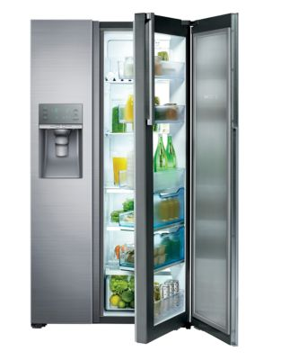 RH22H9010SR/AA 21.5 cu. ft. Side-by-Side Refrigerator with Food Showcase photo