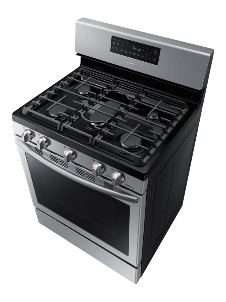 29db061f729 Samsung - NX58H5600SS AC 5.8 cu. ft. Gas Range with Self-Cleaning ...