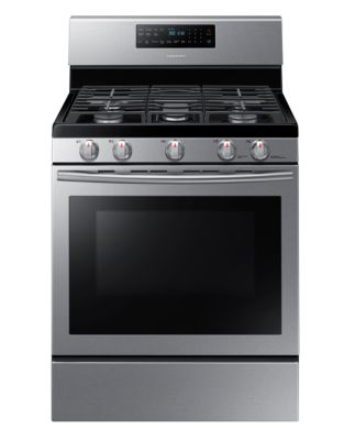 NX58H5600SS/AC 5.8 cu. ft. Gas Range with Self-Cleaning and Fan Convection Oven (Stainless Steel) photo