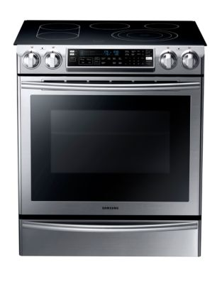 5.8 cu. ft. Slide-In Electric Range Stainless Steel photo