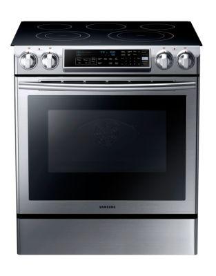 NE58F9500SS/AC 5.8 Cubic Ft. Electric Slide-in Range (Stainless Steel) photo