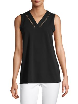2949c61977bff Product image. QUICK VIEW. Calvin Klein. Sleevelees V-Neck Top