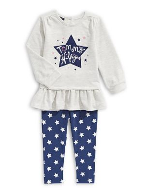 QUICK VIEW. Tommy Hilfiger. Baby Girl s Two-Piece Legging Set 2461556e2dc8