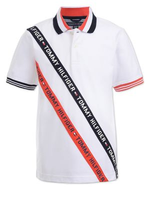 5719f3b35 QUICK VIEW. Tommy Hilfiger. Boy s Embroidered Logo Short-Sleeve Polo