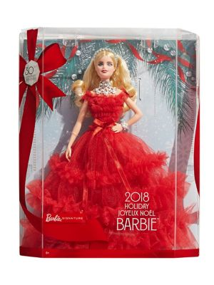 2018 Holiday Barbie Doll