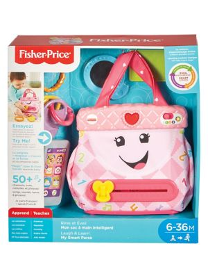 My Smart Purse Laugh & Learn Play Set FRV39 - French Version (Kids) photo