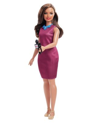 60TH Anniversary Career Journalist Doll