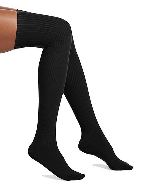 HUE Womens Rib Knee Sock