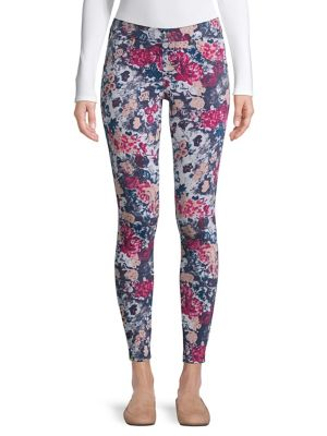 2e485247b99 QUICK VIEW. Hue. Essential Denim Floral Leggings