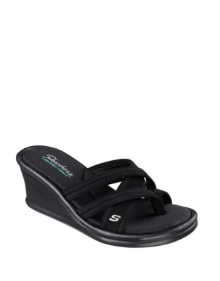 cd2c01353f0d Rumblers at Heart Wedge Sandals BLACK. QUICK VIEW. Product image