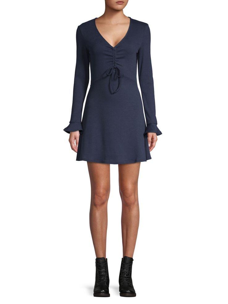 3cfe6d93c49 Design Lab Lord   Taylor - Ribbed A-Line Dress - thebay.com