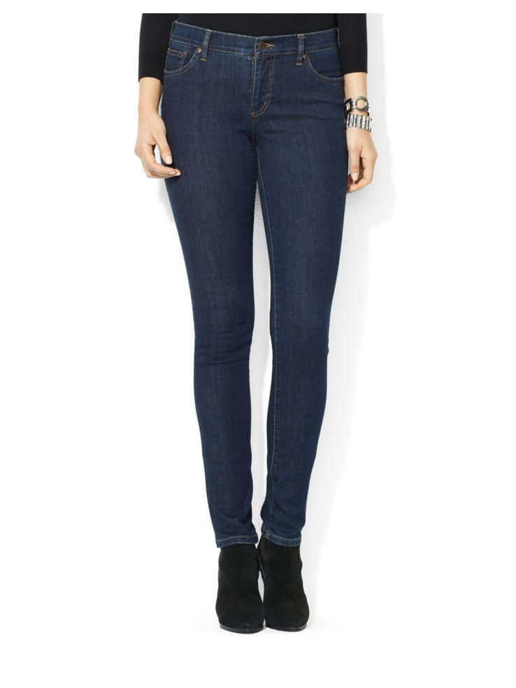 b00b9649603afa Lauren Ralph Lauren - Super Stretch Slimming Modern Skinny Jean ...