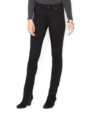 597e9e548c Product image. QUICK VIEW. Lauren Ralph Lauren. Super Stretch Slimming  Heritage Straight Jean.  105.00
