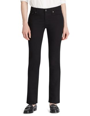 2abefed4a3a Product image. QUICK VIEW. Lauren Ralph Lauren. Modern Straight Curvy Jeans