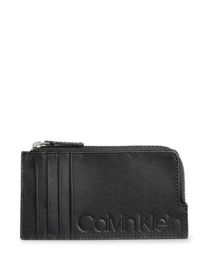 Product image. QUICK VIEW. Calvin Klein. Leather Card Case