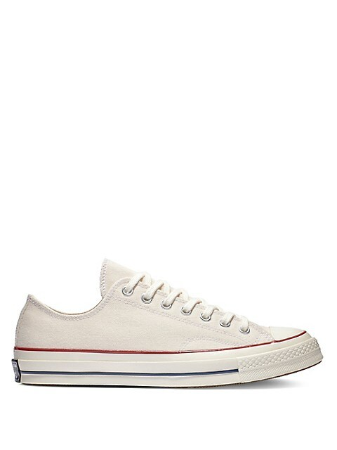 Visible anillo apertura  Converse Vintage Canvas Chuck 70 Low-Top Sneakers   TheBay