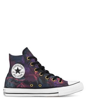 605326d0a15c Converse - Linear Floral Chuck Taylor All Star High-Top Sneakers -  thebay.com
