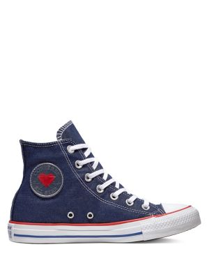 Product image. QUICK VIEW. Converse. Sucker For Love Chuck Taylor All Star  Denim High-Top Sneakers.  75.00 Now  52.50 9737d465db5
