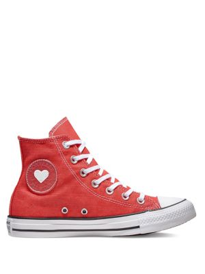 Product image. QUICK VIEW. Converse. Sucker For Love Chuck Taylor All Star  Denim High-Top Sneakers.  75.00 Now  56.25 13ee3db919997