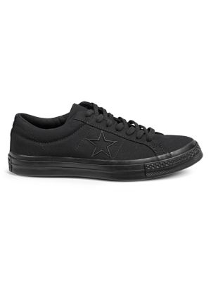 3fe48229990a One Star Low-Top Canvas Sneakers BLACK. QUICK VIEW. Product image