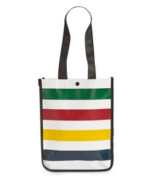 f16dc52184e1 QUICK VIEW. HBC Stripes. Multi Stripe Reusable Tote