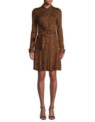 e9aa3c9de12e QUICK VIEW. Diane Von Furstenberg. Printed Shirtdress Silk Dress