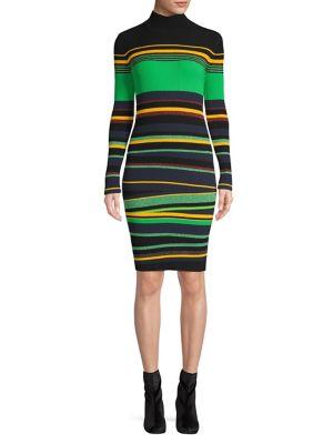 b015740635be9 QUICK VIEW. Diane Von Furstenberg. Ribbed Bodycon Dress