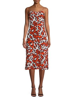 2ea78bcac527 QUICK VIEW. Diane Von Furstenberg. Leopard Print Sleeveless Dress