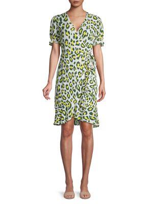 fa7a0abafc69 Diane Von Furstenberg. Emilia Floral Mini Dress. NOW