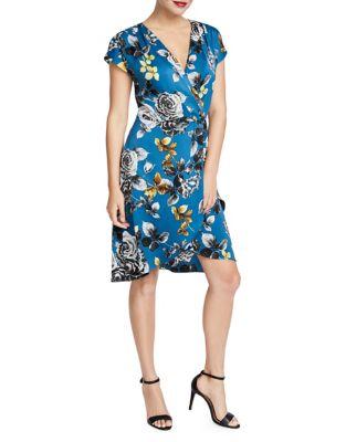 2f6e2726cad QUICK VIEW. Rachel Rachel Roy. Pierce Floral Faux Wrap Sheath Dress