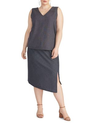 abc412b918 Product image. QUICK VIEW. Rachel Rachel Roy. Plus Emmy Asymmetrical Skirt
