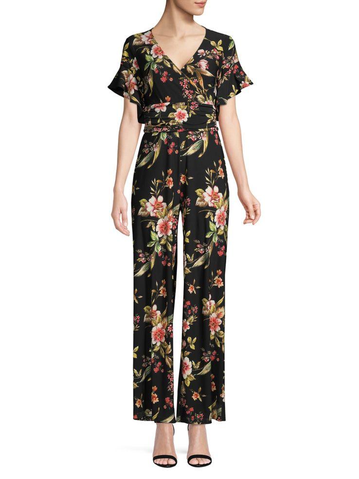 f92338c3f5 Rachel Rachel Roy - Floral Jersey Jumpsuit - thebay.com