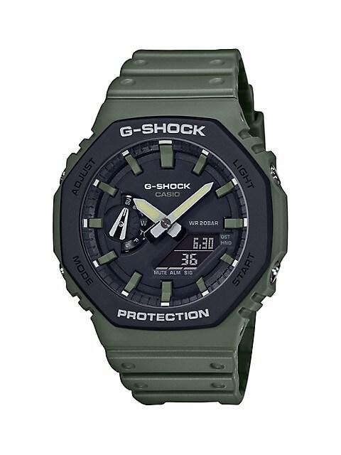 Casio G-Shock Limited-Edition Resin-Strap Watch GA2110SU-3ACR