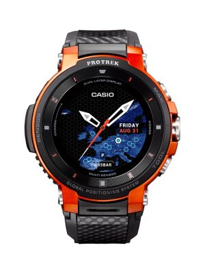 Product image. QUICK VIEW. Casio. Protek Smart Watch. $699.00 · G-Shock Grey Skeleton Resin-Strap ...