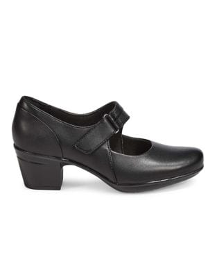 0dd1b5f158be Emslie Lulin Leather Mary-Jane Shoes BLACK. QUICK VIEW. Product image