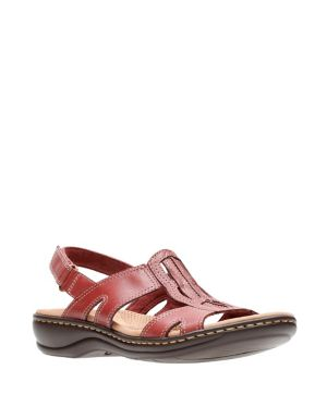ed64e5a450b6 Collection By Clarks - Leisa Skip Leather Sandals - thebay.com