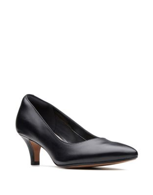 d66007a540f Product image. QUICK VIEW. Collection By Clarks. Linvale Jerica Leather  Pumps