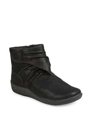 Sillian Tana Ankle Boots by Cloudsteppers By Clarks