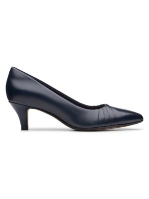 9f79206835 QUICK VIEW. Clarks. Linvale Crown Kitten Heeled Pumps