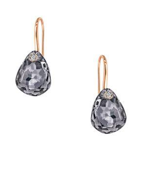 e33aa53b4 Swarovski - Galet Crystal Pierced Earrings - thebay.com
