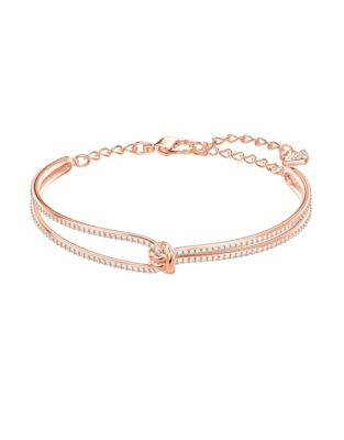 2f3670d08 QUICK VIEW. Swarovski. Lifelong Knot Bangle Bracelet