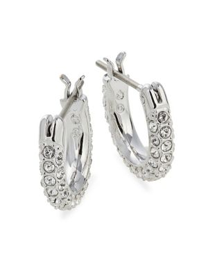 c8451f4348dc QUICK VIEW. Swarovski. Stone Pierced Earrings