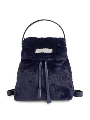 d60271718f Swarovski - Logo Faux Fur Backpack Gift With Purchase - thebay.com